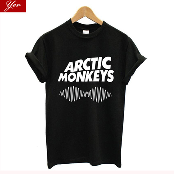 2020 new arrived arctic monkeys t shirt women Cotton streetwear vintage tshirt women Harajuku Hip Hop Tee Basic T-shirt Hipster 1