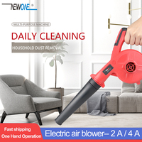 Newone 20V Portable Computer cleaner Electric air blower dust Blowing Dust Computer Dust Collector Air Blower with 4A battery