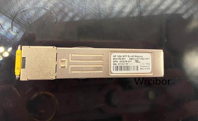 Echte HP 453156 001 1GB RJ 45 SFP Modul Virtuellen Verbinden ABCU 5712RZ HP1