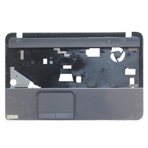 Image 2 - חדש מקרה כיסוי עבור Toshiba לווין L850 L855 C850 C855 C855D Palmrest כיסוי ללא touchpad/מחשב נייד תחתון בסיס מקרה כיסוי