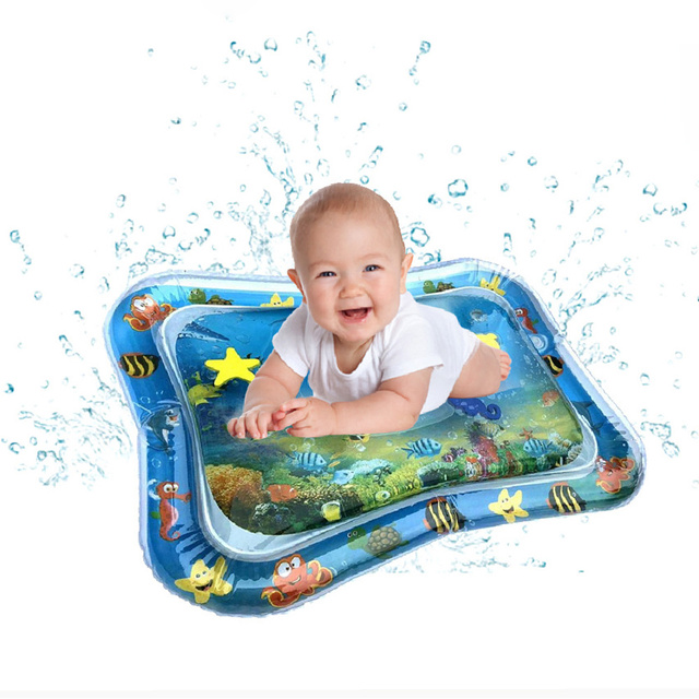 Creative Dual Use Toy Baby Play Mat For Children Inflatable Patted Pad Baby Water Cushion Prostate Water Cushion Pat Kids Toys
