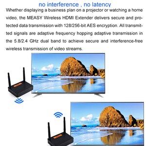 Image 5 - Measy FHD676 5.8GHz/2.4GHz bezprzewodowy nadajnik HD Extender nadajnik Full HD 1080p @ 60Hz 200m odbiornik transmisji Audio wideo