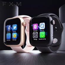 New Z6 Smart Watch Sim Card Fitness Bluetooth IOS Android Watch Phone Watches Camera Music player Smartwatch PK GT08 DZ09 Q18 Y1 цена