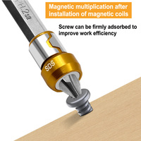 Magnetic Ring Alloy Electric Magnetic Ring Screwdriver Bits Anti-Corrosion Strong Magnetizer Phillips drill bit Magnetic Ring