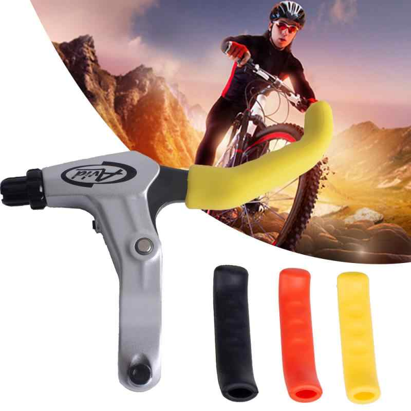 2pcs Bicycle Handlebar Brake Levers Cover Silicone Anti-Skid Protector Accessory