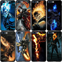 Etui na telefon do Huawei P smart Z Mate 9 10 20 30 P10 P20 P30 P40 Lite E Pro Plus 2019 2020 Ghost Rider Fire Car(China)