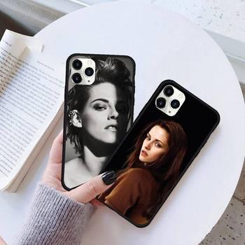 kristen stewart Phone Case Rubber for iPhone 11 pro XS MAX 8 7 6 6S Plus X 5S SE 2020 XR case