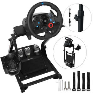 Wheel-Stand Simulator Pedals G29-Racing Steering Not-Include-Wheel High-Quality