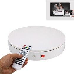 20/32cm 360 grados de Control remoto de velocidad de la dirección de la joyería exhibición giratoria eléctrica organizador de la joyería soporte de exhibición de la fotografía