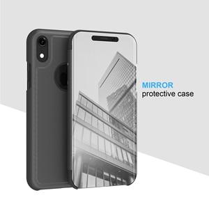 Image 2 - กระจกกรณีพลิกสำหรับ iphone 5s 5 se Clear view ฝาครอบ iphone 6 6s 7 8 plus สำหรับ iphone XR Xsmax ป้องกัน