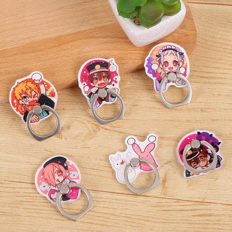 Mobile Phone Stand Holder Anime Toilet-Bound Hanako-kun Phone Finger Ring Holder For IPhone Huawei Xiaomi All Phone