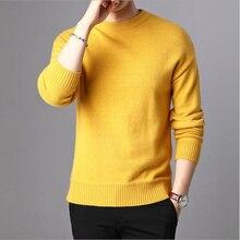 2019 Cashmere cotton sweater men autumn winter jer