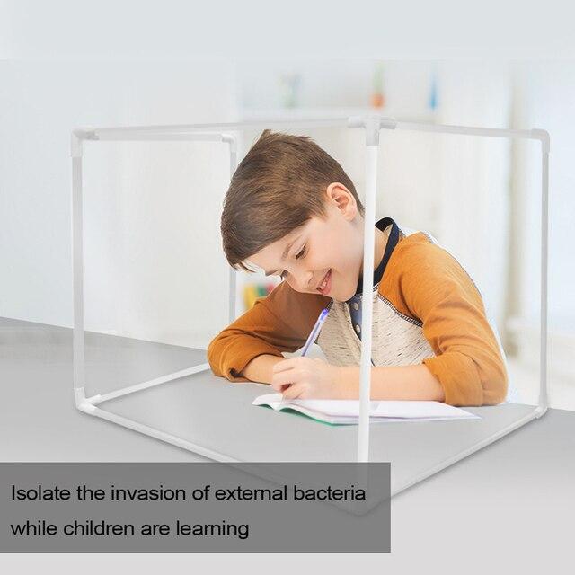 Bureau scolaire vie privée travail repas apprentissage multifonctionnel sécurité séparation bureau cloison cloison Isolation Table à manger