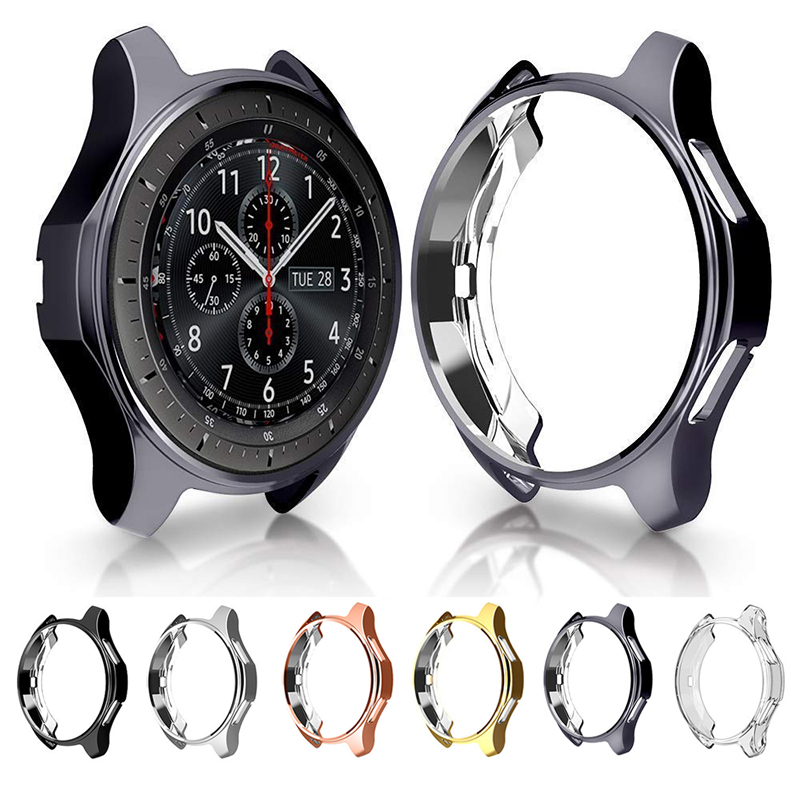 Tup Case For Samsung Galaxy Watch 46mm Protective Case For Galaxy Watch 42mm 46mm Gear S3 Frontier Classic Watch Protector Cover
