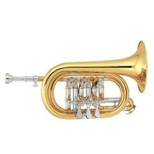 Gold lacquer Rotary valve type Tone Bb Cornet