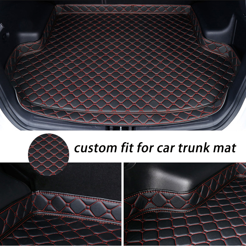 Custom Car Trunk Mat For Peugeot 307 Sw 308 107 206 207 301 407 408 508 2008 4008 5008 Floor Mats For Cars
