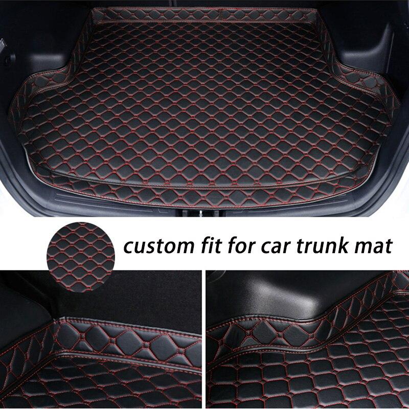 Пользовательские коврик для багажника автомобиля для peugeot 307 sw 308 107 206 207 301 407 408 508 2008 4008 5008 коврики для автомобилей on AliExpress