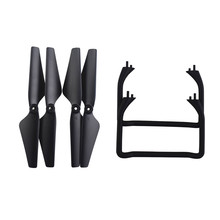 4pcs Propellers + 2pcs Landing Gears Spare Parts For Udirc U88 D58 Gps QuadcopterRC Drone Accessories RC Parts High Quality