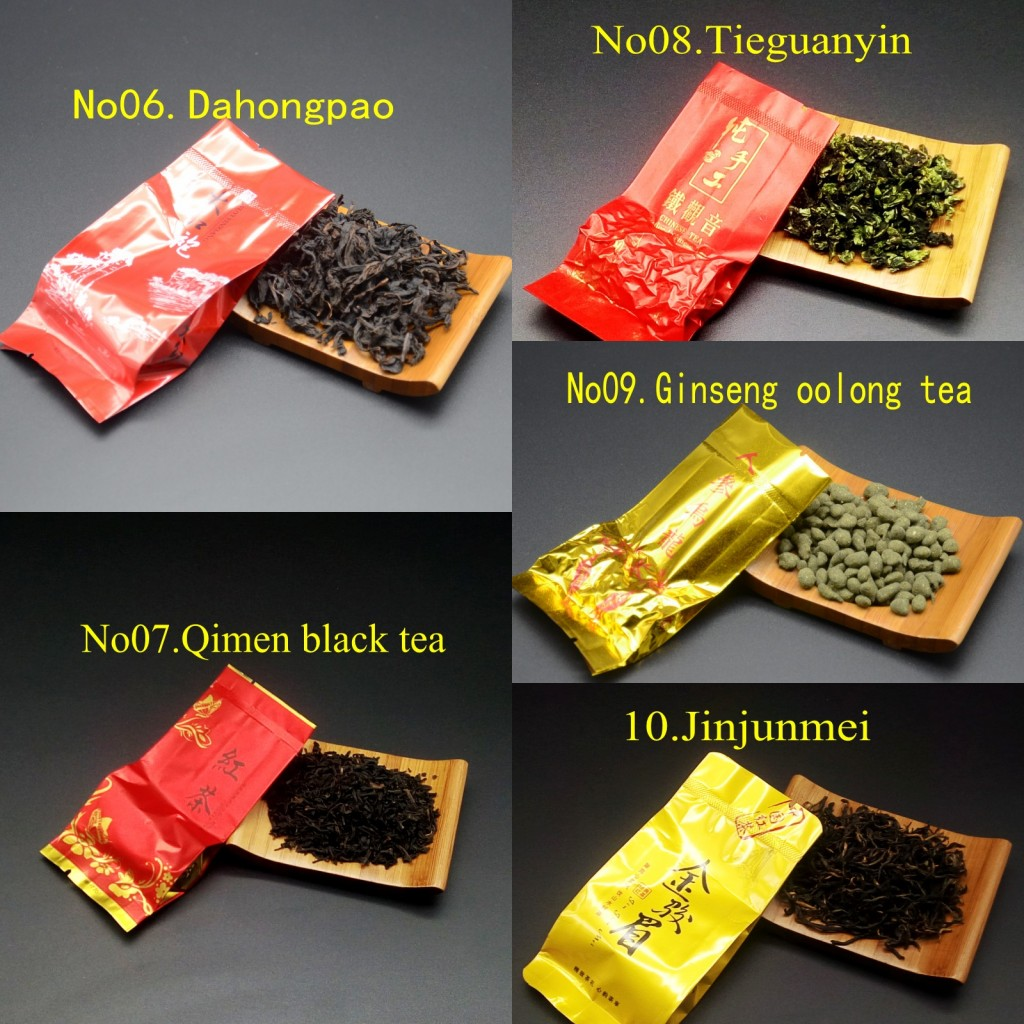 15 Different Flavors Chinese Tea Includes Milk Oolong Pu-erh Herbal Flower Black Green Tea 3