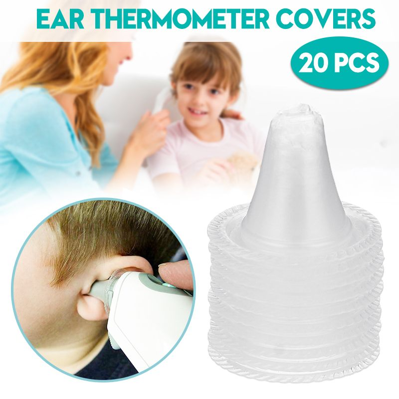 Durable 20pcs/set Infrared Ear Thermometer For Braun Thermoscan Replacement Lens Filters Probe Cover