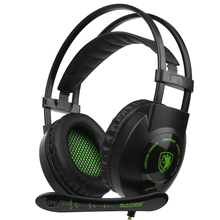 Gaming Headsets with Microphone Over Ear Music Headphones Bl