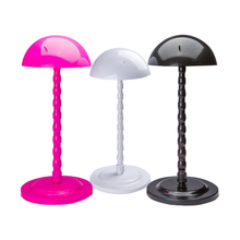 Hot Selling Plastic Foldable Hair Head Hat Cap Display Wig Holder Stand Tool Stable Durable In Stands