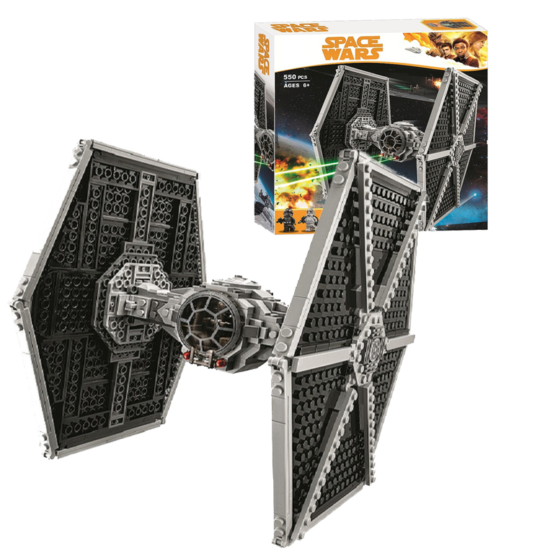 2019 NEW 10900 Star Wars Series TIE  Fighter Building Block 550pcs Bricks Toys Compatible With Legoinges 75122