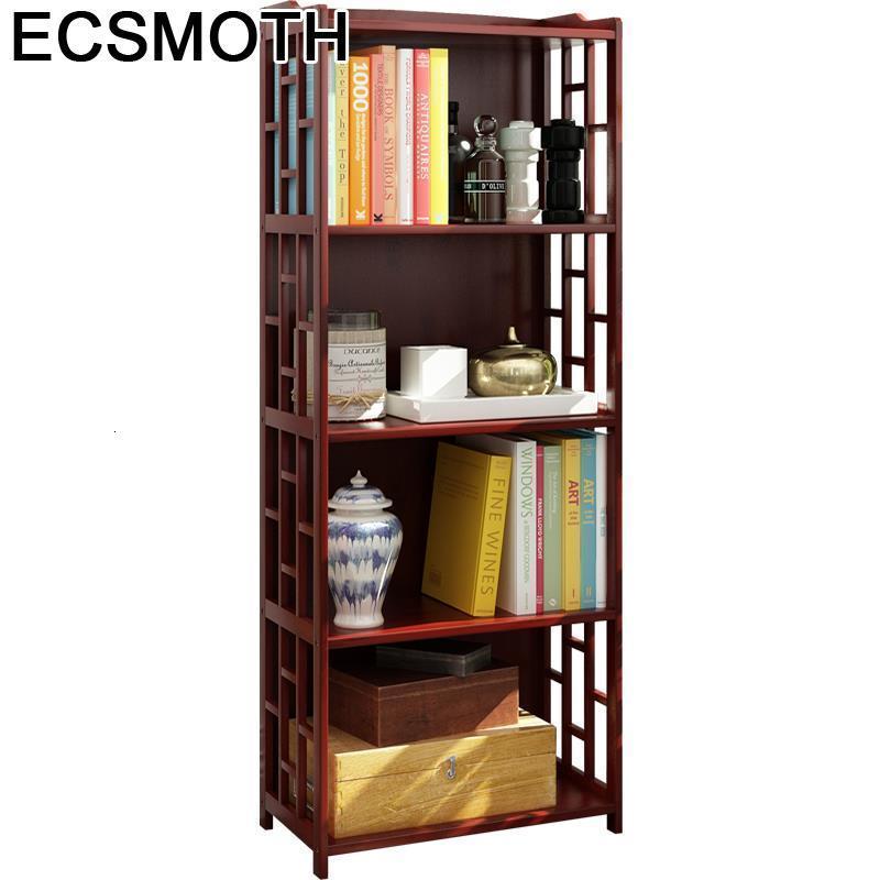 Rack Libreria Industrial Mobili Per La Casa Madera Mueble De Cocina Shabby Chic Wood Retro Furniture Decoration Book Shelf Case