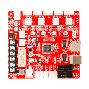 Image 5 - Anet A1284 Base V1.7 Control Board Mother Board Mainboard for Anet A8 DIY Self Assembly 3D Desktop Printer  i3 Kit