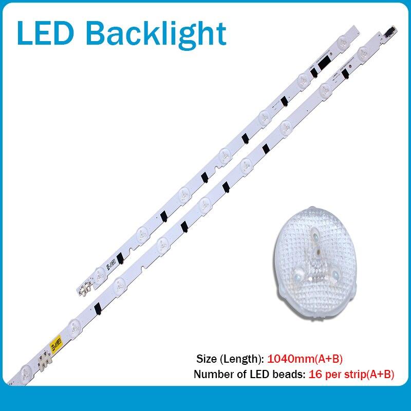 (New Kit)2 PCS/set LED Backlight Strip For Samsung TV UN50F6400AF 2013SVS50F R 7 L9 D2GE-500SCB-R3 D2GE-500SCA-R3 T500HVF02.1