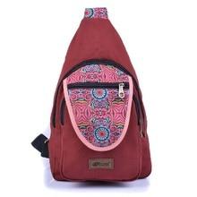 2020 New China  Style Women's Shoulder Messenger Bag Chest Bag Multifunctional Canvas Bag Ethnic Men travel Satchels Bag