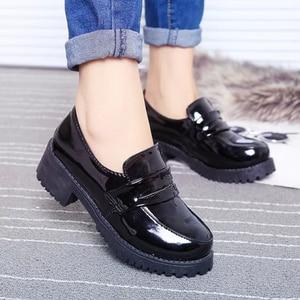 Image 2 - Японская Студенческая обувь, Молодежные туфли JK, униформа, обувь из искусственной кожи, обувь для косплея