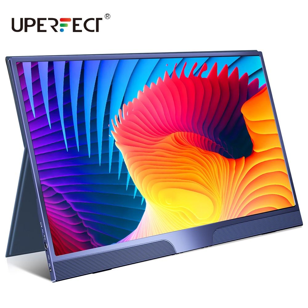 UPERFECT 15,6 дюймовый USB C HDMI 1920*1080P HDR монитор с ультратонким портативным экраном, игровой дисплей для PS4 XBOX Switch сотового телефона