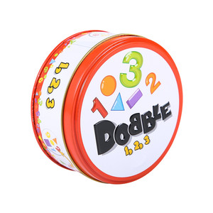 Image 2 - Halloween Dobbles Spot Het Hip Hop Engels Versie Op Road Board Game Hoge Kwaliteit Dobble Metalen Blikken Doos