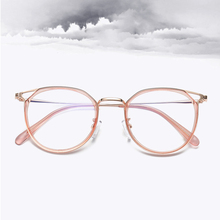 Transparent Cat Eye Glasses Vintage Retro Optical Frame Women Myopia Prescription Eyeglasses Frames Eyewear Spectacles