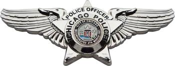 Custom Chicago Police Department Pilot Wings Badge Welcome to customize your badge image