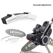 Kit de Montage de patins de vélo, outil de réglage de disque de vtt, plaquettes de Rotor Rem, assistant de réparation et d'espacement, 4 pièces