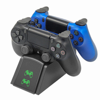 Vogek PS4 Controller Schnelle Lade Dock Station Dual Charger Stand mit Status Anzeige für Play Station 4/PS4 Dünne/PS4 Pro