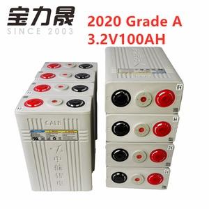 Image 2 - 4 pièces Grade A 2020 nouveau 3.2v100ah Lifepo4 batterie originale CALB cellule en plastique CA100 12V24V pour moto US ue royaume uni sans taxe FEDEX