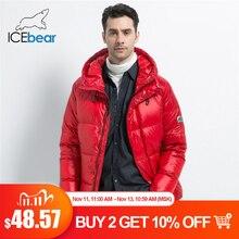 Icebear 2019 novo inverno jaqueta masculina elegante para baixo casaco masculino grosso quente homem roupas de marca vestuário masculino mwd19867i