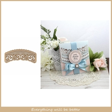 Metal Cutting Dies Flower Lace Frame Stencils Hollowed Die Cut For Scrapbook Craft Handmae Make Cards Embossing Paper Hot 2020 cute baby clothes bow lace leather belt button metal cutting dies diy scrapbook craft new stencils make cards embossing paper