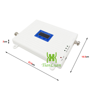 Image 3 - 2G 3G 4G Tri Band Booster GSM 900 WCDMA 2100 LTE 2600 Cellular Amplifier Cell Phone Signal Repeater 4G LTE Mobile Signal Booster
