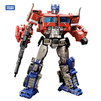Transformers Optimus Prime Action Figure Toys SS38 OP Sai Star Commander Truck Deformation KO Anime Movie Transformation Model [show z store] zeta za 01 take off armeggedon combiner combaticons bruticus transformation action figure