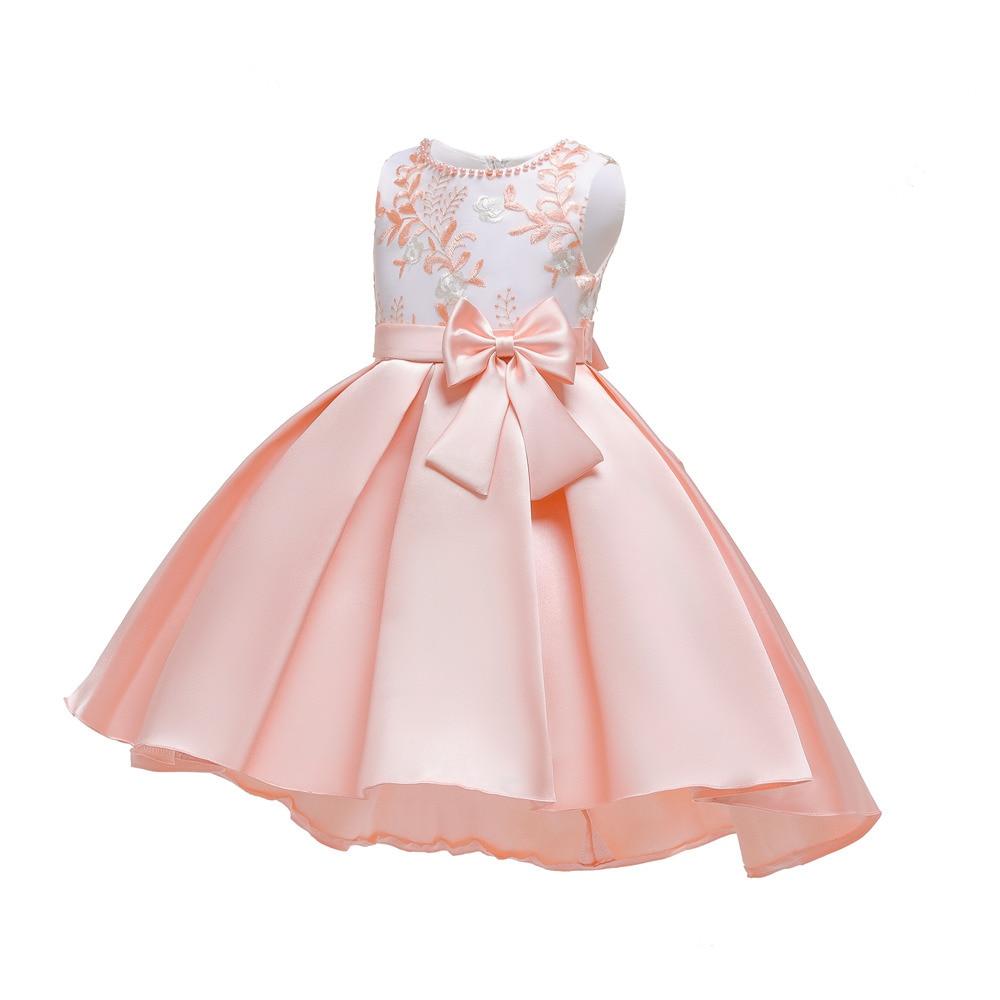 Hot Selling CHILDREN'S Dress 2019 New Style Girls Princess Skirt Host Model Catwalks Piano Costume
