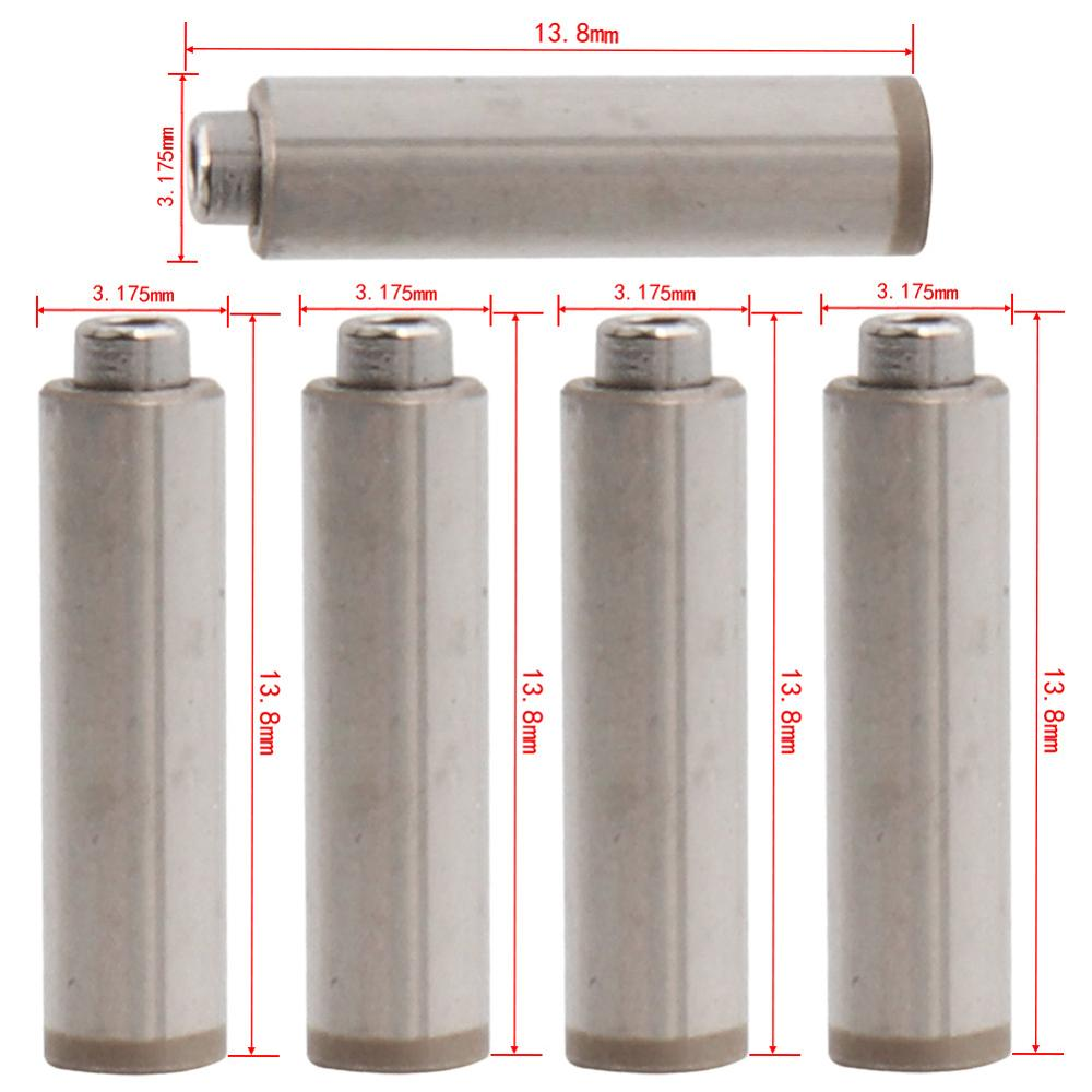 5pcs Spindle/Axis For Dental High Speed Handpiece Air Turbine 13.8mm*3.175mm Rotor Cartridge