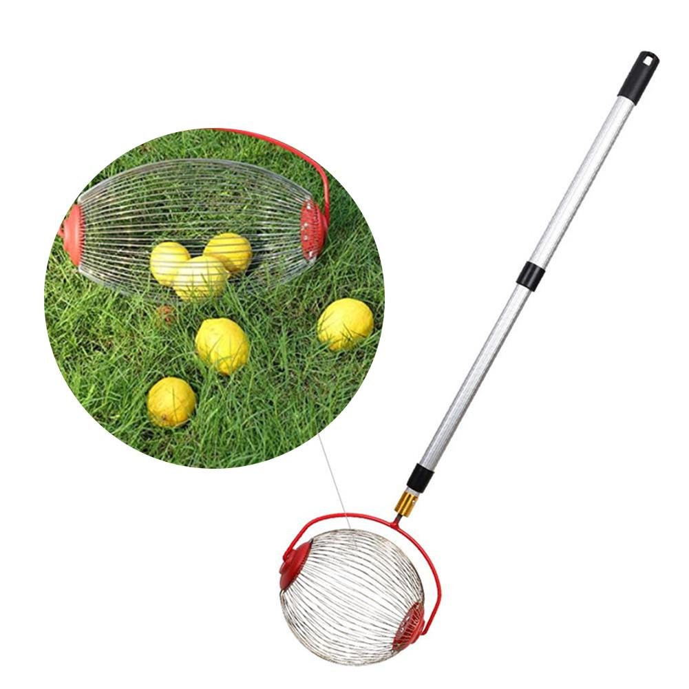 Prunes Collector Nut 34in With Harvester For Golf 41 90 Portable Lightweight Telescopic 18 Picker Ball Walnut Nuts Pecans Rod