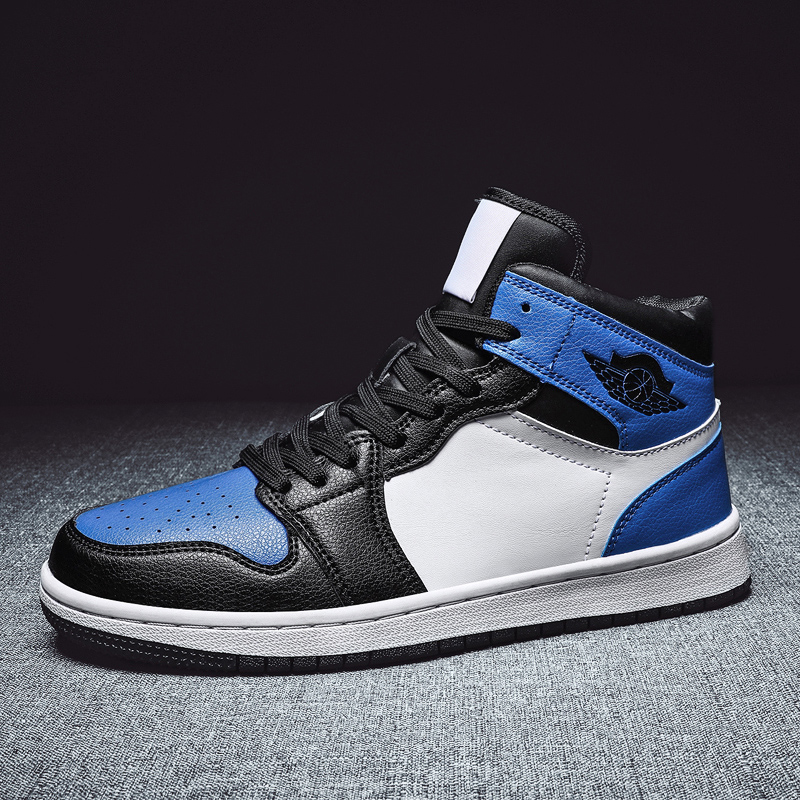 Men's Shoes Basketball Wear-resistant Sports Fashion Ventilation Casual Light Basketball Shoes