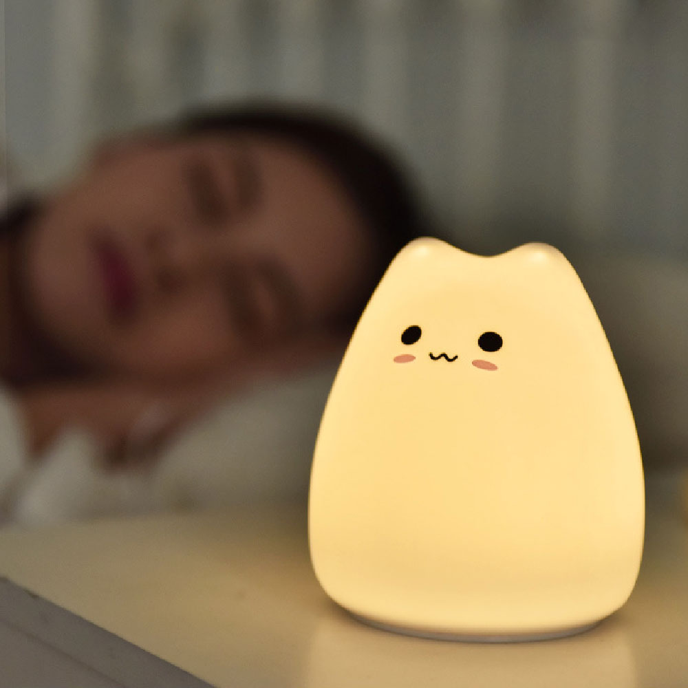 Kawaii Cat Silicone Lamp - Limited Edition