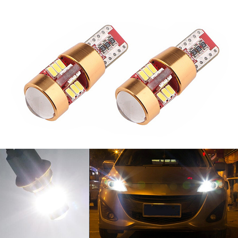 2X T10 <font><b>LED</b></font> W5W <font><b>LED</b></font> Car <font><b>LED</b></font> 12V Auto Lamp Clearance Light Parking For <font><b>Mazda</b></font> 323 626 cx-5 3 6 8 Atenza <font><b>cx7</b></font> cx-7 mx5 cx3 rx8 cx5 image
