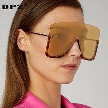 2020 new Sunglasses Women Rimless Integrated Retro Vintage Sunglasses